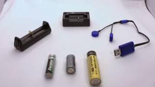 Comparing portable USB battery chargers: Olight UC, Nitecore F1, Xtar XP1