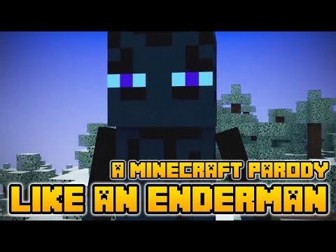 Minecraft Song and Minecraft Videos Like An Enderman A Minecraft parody of Gangnam Style by PSY