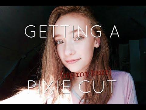 GETTING A PIXIE CUT!?