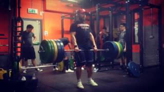 Daniel Stisen Deadlifts Nov 2016