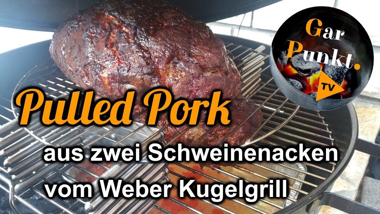 Wie Lange Dauert Pulled Pork Im Gasgrill : Pulled pork aus zwei schweinenacken vom weber kugelgrill
