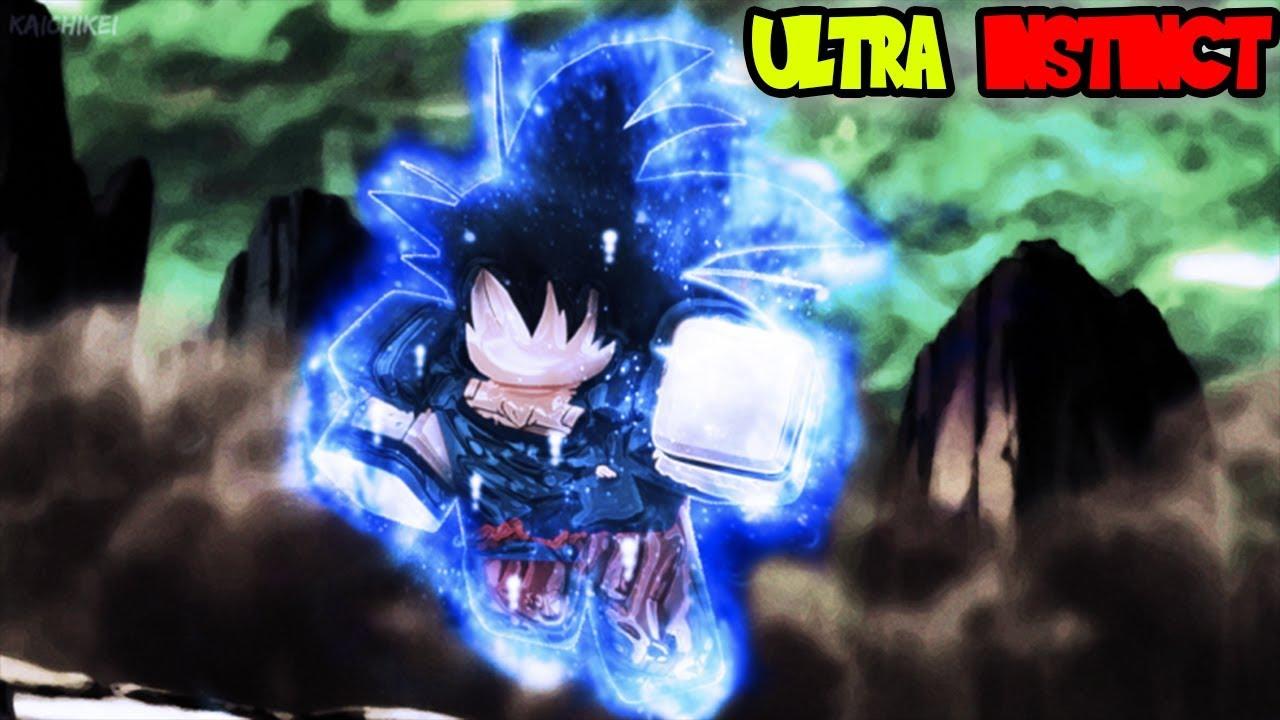 Ultra Instinct SHOWCASE   ROBLOX Dragon Ball Z Final Stand