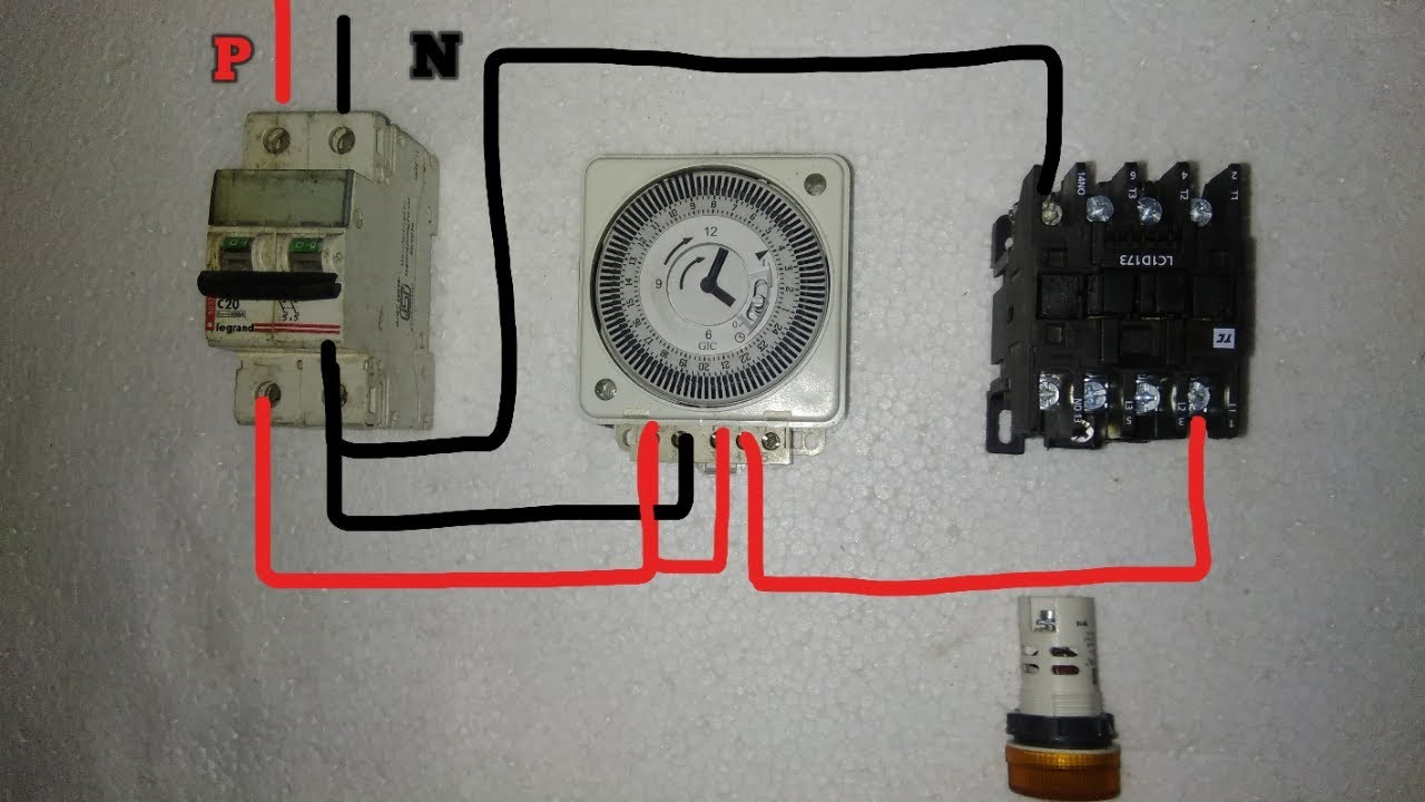 small resolution of street light timer setting connection with practical