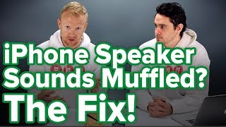 iPhone Speaker Sounds Muffled? An Apple Tech's Fix!