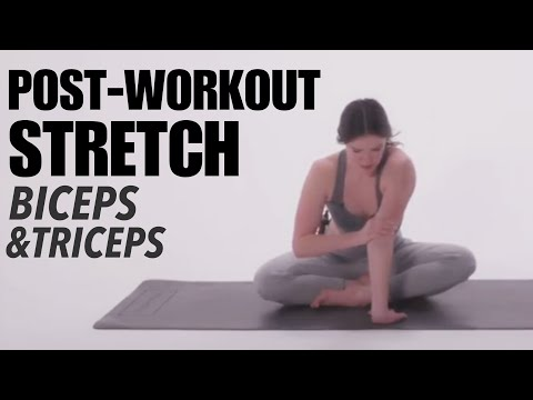 Post Workout Stretch: Biceps and Triceps