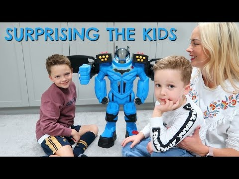 UNBOXING & REVIEW OF THE FISHER PRICE BATBOT XTREME AD  |  EMILY NORRIS
