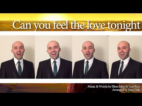 Can You Feel The Love Tonight (Elton John) - Barbershop Quartet
