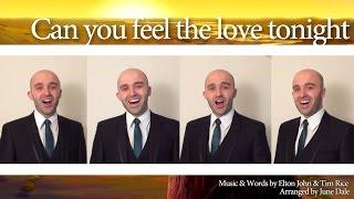 Download Can you feel the love tonight (Elton John) - Barbershop Quartet