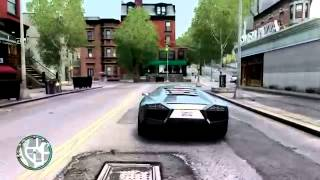 GTA 4 IV PC Lamborghini Reventon Photorealistic ENBseries gameplay (2014)