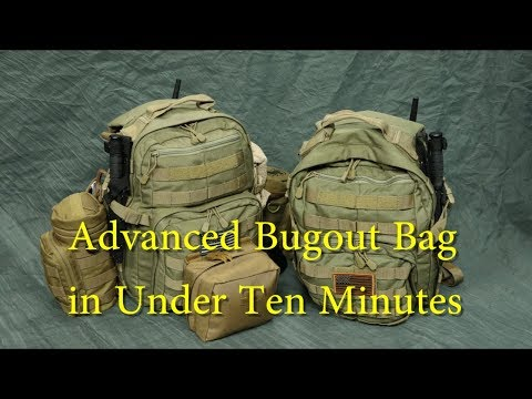 """Cost is No Object"" Advanced Bugout Bag -- Complete List — Under 10 Minutes"