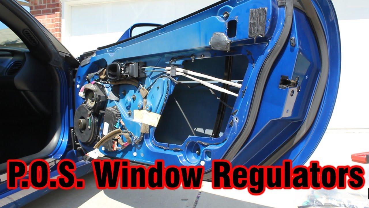 C5 Corvette Z06 Window Regulator DIY and Other Little