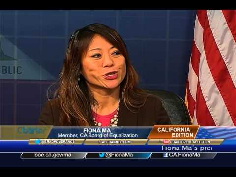 California Edition Interview with CA BOE Member Fiona Ma