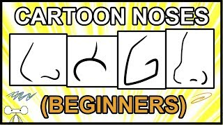 How to Draw a Cartoon Nose Beginners