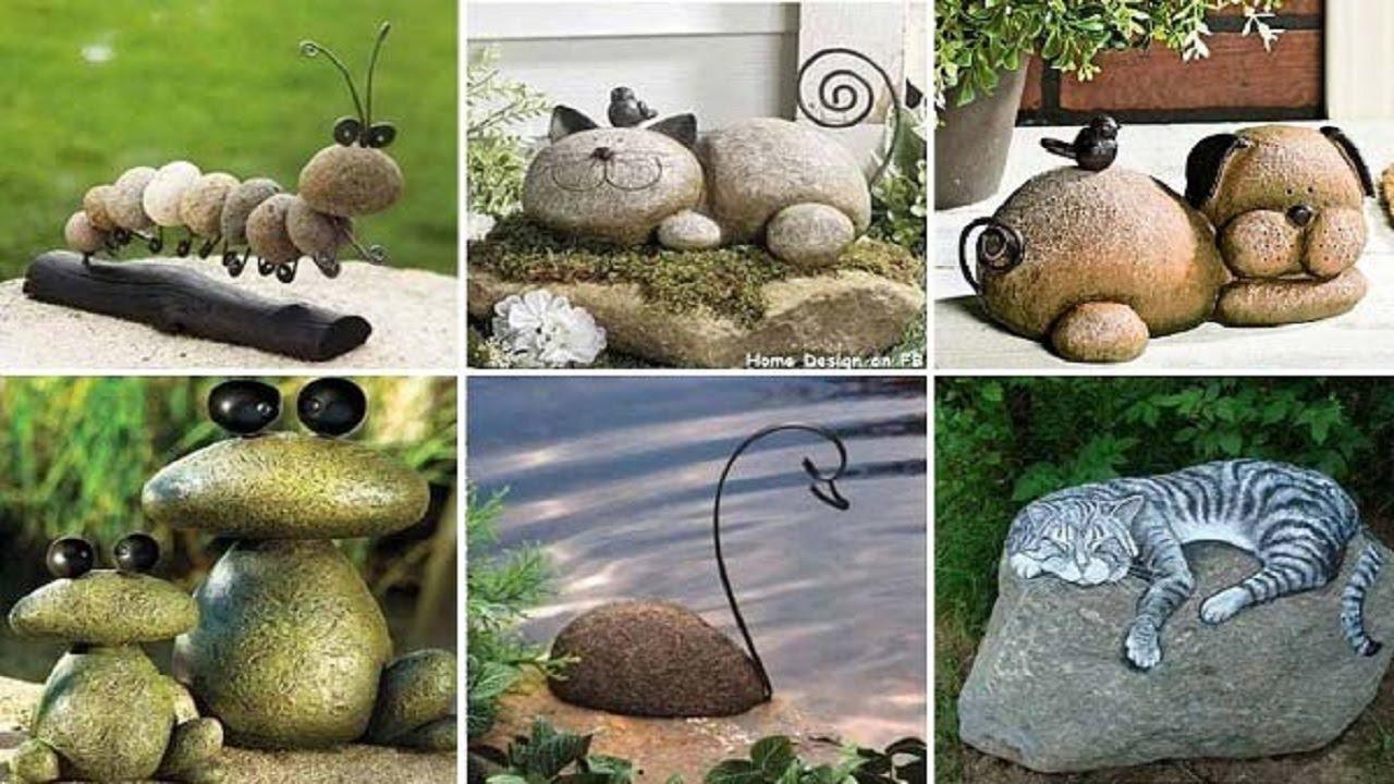 ideas de como decorar tu jardin con piedras jardines con piedras