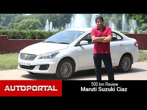 Maruti Ciaz 500km Test Drive Review- Autoportal