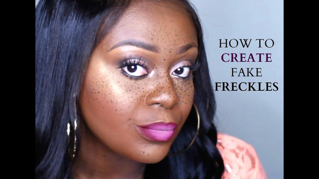 Fake freckles on dark skin makeup trick for realistic freckles fake freckles on dark skin makeup trick for realistic freckles 2016 youtube ccuart Choice Image