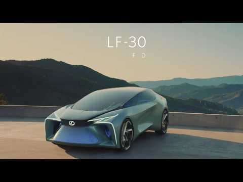 LEXUS'S SCI-FI ELECTRIFICATION
