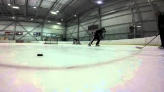 Luke Lush Goalie Training With Atc Goaltending Edmonton 2015