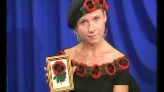видео Девчата - Три самых стильных шарфа крючком из цветочных мотивов