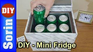 DIY Mini Fridge - Part 2 (cooler box with Peltier modules)