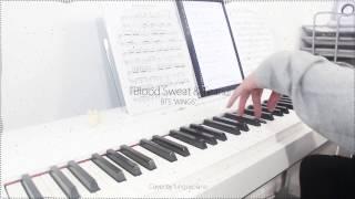 BTS 방탄소년단 2nd Album WINGS Blood Sweat Tears 피 땀 눈물 Piano Cover W Sheet Music