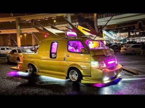 Meet the Craziest Modified Vans in Japan