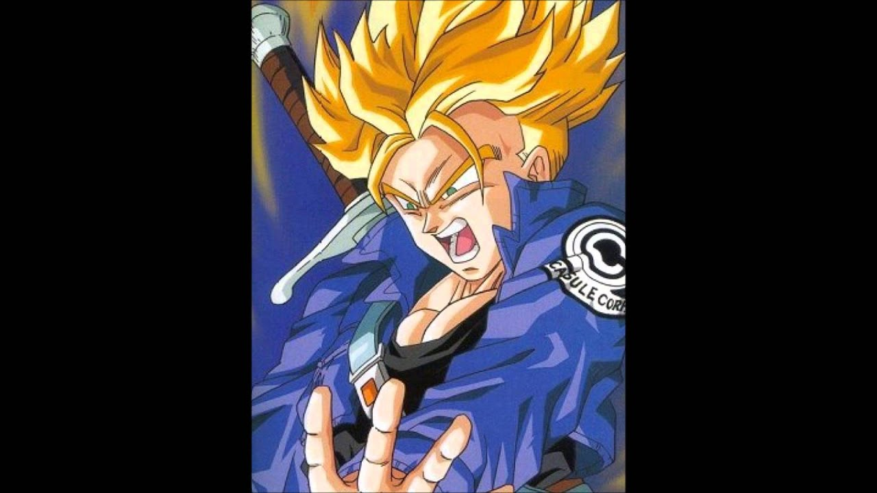Future Trunks Super Saiyan Theme Youtube
