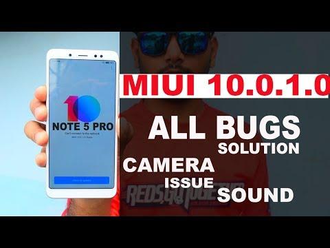 Redmi Note 5 pro - MIUI 10.0.1  ALL BUGS #SOLUTION#CAMERA#Fingerprint