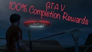 GTA V: 100% Completion Rewards
