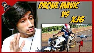 REACT - DRONE MAVIC VS XJ6 😮 (RENATO GARCIA) / TONH MILLER