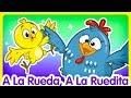 A La Rueda, A La Ruedita - Oficial - Canciones infantiles de la Gallina Pintadita