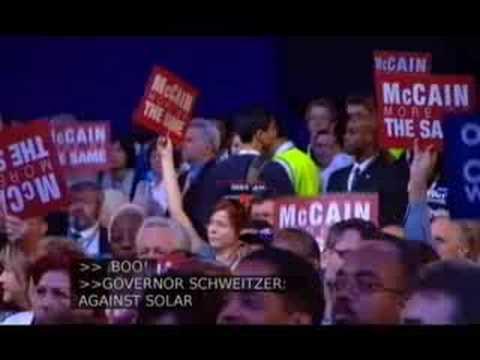Governor Brian Schweitzer (D-MT)
