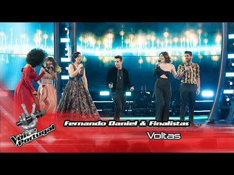 Fernando Daniel & Finalistas - 'Voltas' | Final | The Voice Portugal