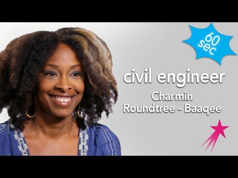 60 Seconds with Civil Engineer Charmin Roundtree - Baaqee