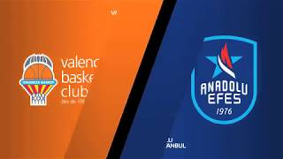 #EuroLeague 3. Hafta: Valencia - Anadolu Efes