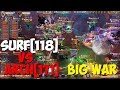 ALBION ONLINE - SURF[118] Vs ARCH[171] BIG WAR!ZVZ!GVG!