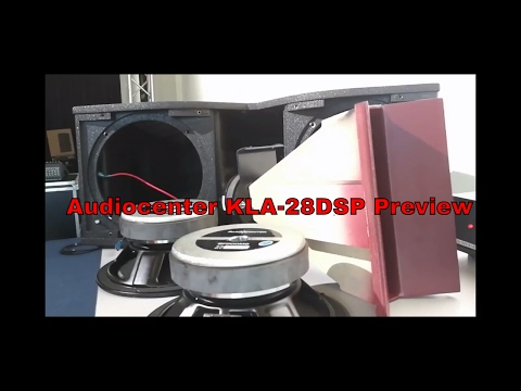 Audiocenter KLA 28DSP Line Array System Preview
