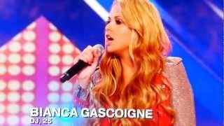 X Factor UK 2012 Bianca Gascoigne DJ 25
