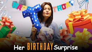 Her Birthday Surprise ❤️🙊   Teena Chhetri   SahibNoor Singh