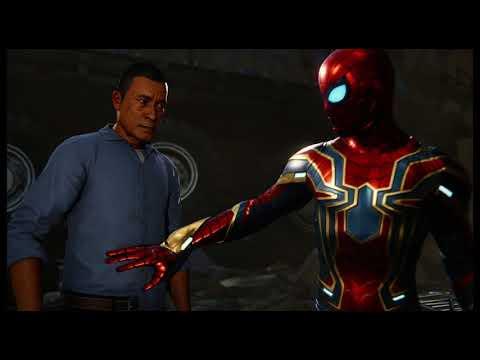 "Spider-Man - Collision Course: Spidey Saves Dr Michaels, Silver Sable ""Didis Koya!"" Cutscene (2018)"