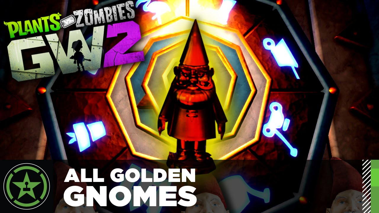 Plants Vs Zombies Garden Warfare 2 All Gnomes And Secret Gnome Chamber Guide Youtube