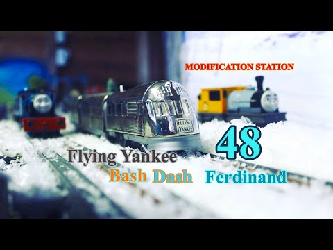 Thomas And Friends MODIFICATION STATION 48 Flying Yankee, Bash, Dash, And Ferdinand
