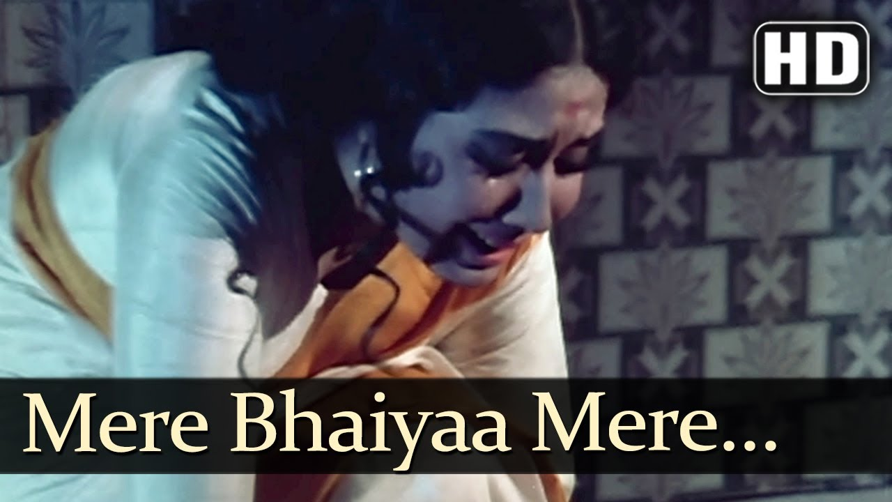 Download Mere Bhaiyaa Mere (HD) - Kaajal Songs - Meena Kumari - Raj Kumar - Mohd Rafi - Asha Bhosle