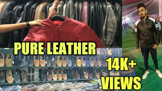 LEATHER MARKET IN CHENNAI/Jackets,bags,shoes/Chennaiker Akash