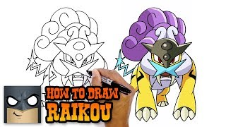 How to Draw Raikou | Pokemon (Art Tutorial)