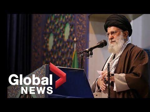 "Iran's supreme leader calls Trump a ""clown"" in rare weekly prayer address"