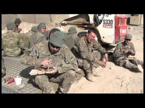 "3rd IBCT 1st AD ""Bulldog"" Thanksgiving Day in Wardak and Logar, Afghanistan 2011"