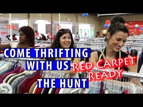 Goodwill Deja Blue Boutique Red Carpet Ready Part 1|Come Thrifting With Us|#ThriftersAnonymous