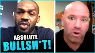 Jon Jones BLASTS Dana White for lying to fans about the Francis Ngannou fight