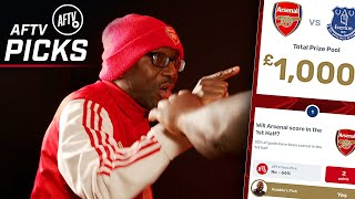 Ty GETS MAD At Kelechi! | Arsenal vs Everton | AFTV Picks